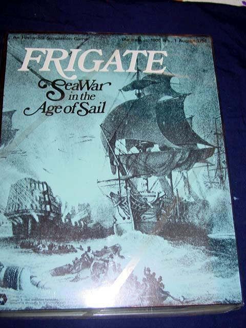 SPI  Simulations Publications Inc 1975 - FRIGATE - Sea War in the Age of Sail
