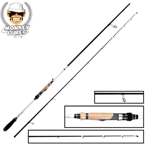 Angelrute Monkey Lures 270cm 10-45g Solution Contact Spinnrute für Zander