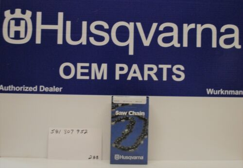 "Craftsman 581807952  14/"" Chain  H38-52 3//8 .043 MINI Genuine OEM Husqvarna"