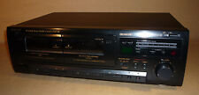 TEAC STEREO TWIN DOUBLE CASSETTE TAPE DECK W-600R DOLBY SYSTEM