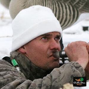 AVERY GREENHEAD GEAR DOUBLE FLEECE SKULL CAP HAT BEANIE  WHITE SNOW