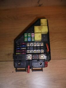 rover 25 2003 2 0 td diesel external engine bay fuse box yqe000730 rh ebay co uk external electrical fuse box