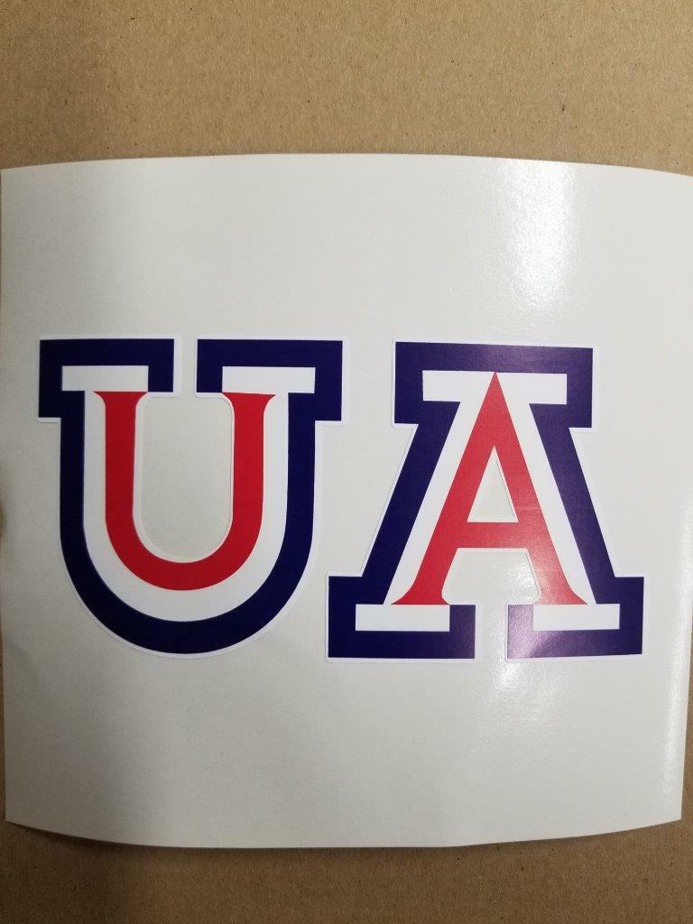 Arizona Wildcats cornhole board or  vehicle decal(s)AW6  high discount