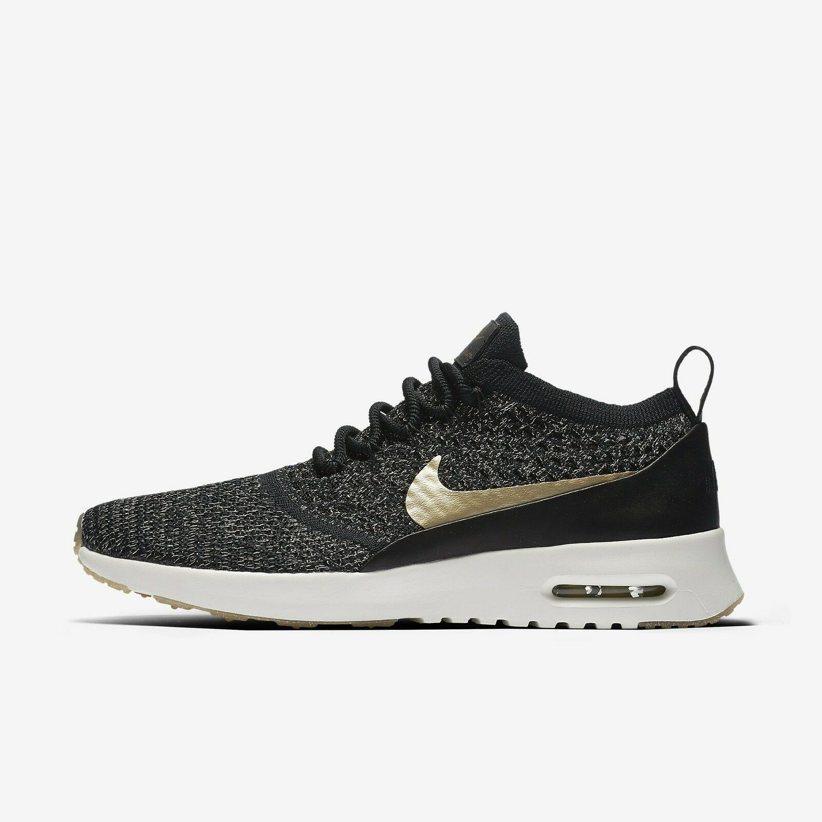 Women's NIKE Air Max Thea Ultra Flyknit Metallic - Size 10.5 (881564-001)