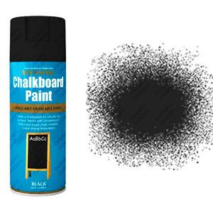 rust oleum tableau noir peinture a rosol noir noir mat tableau ebay. Black Bedroom Furniture Sets. Home Design Ideas