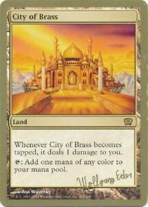 Birds of Paradise Brussels August 2000 new World Championship MTG Gold