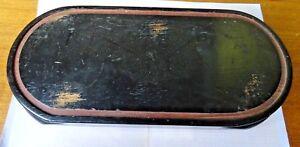 Älterer,gebrauchter Holzsockel Für Pendulen,etc.länge 40,0 Cm X Breite 18,8 X 5,