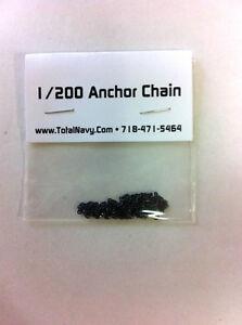 Model Ship Anchor Chain 1/200 Scale