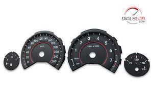 3D BMW F30 F31 F32 F33 F34 F36 F3X - Speedometer dials from MPH to Km/h Gauges
