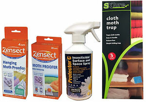 Moth Killer Carpet Moth Trap Spray Repellent Clothes Moth