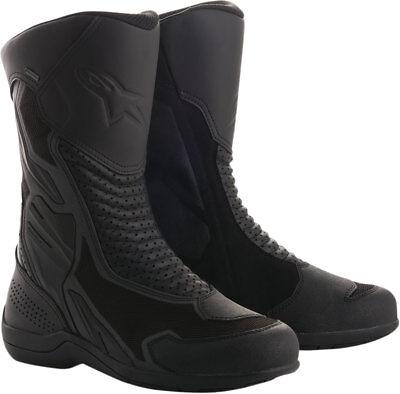 46 Black//Black Alpinestars Mens Air Plus v2 Gore-Tex XCR Motorcycle Riding Boot