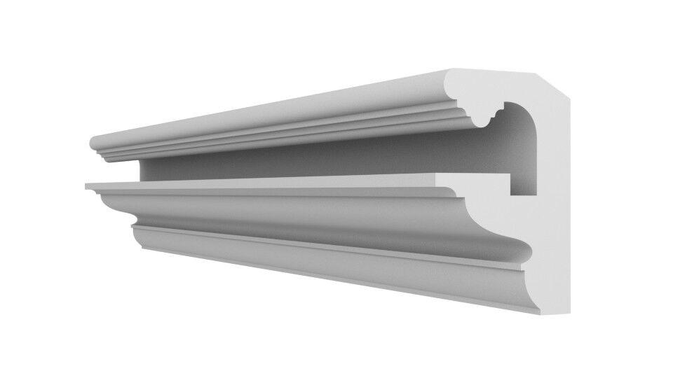 XPS Lightweight FL7 Polystyrene COVING LED Lighting cornice Uplighter Quality