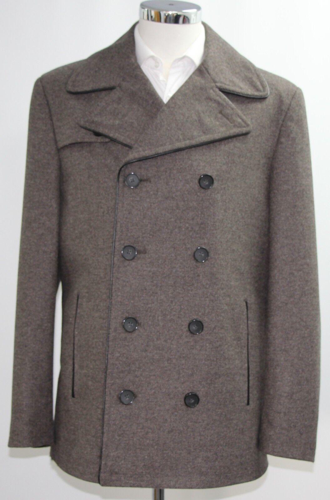 Men's Harry Brown double breasted brown overcoat (M).. sample 3395