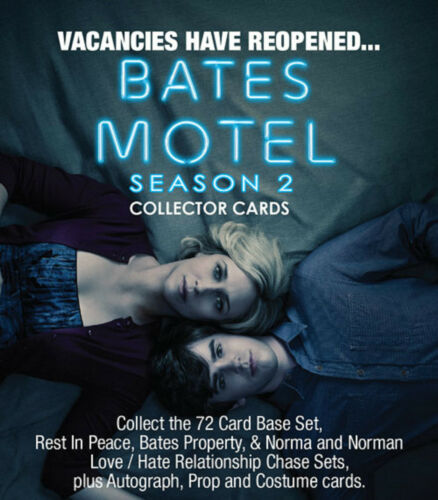 Breygent Bates Motel Season 2 Trading Cards Sealed Box 8 Hits