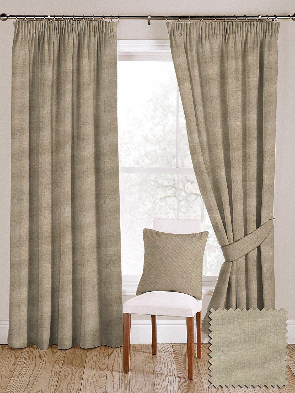 McAlister textiles Doux Luxe Plain Matt Velours Champagne or Paire de rideaux