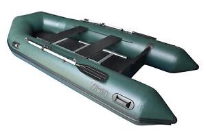 FISH 360 grün Schlauchboot Angelboot Spitzenqualität 100% gebaut in Europa