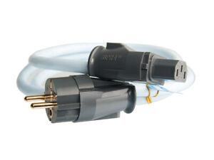 Supra-Cables-Lorad-Mk-II-2-5-Cs-Eu-Mains-Power-With-Sw-Eu-Plug-Even-4-11-12ft