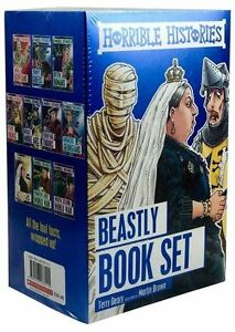 Horrible-Histories-Collection-10-Children-Beastly-Books-Set-Easy-History