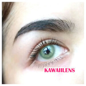 Kontaktlinsen-Contact-Lenses-Cosmetic-Eye-UV-Protection-Lens-Albertine-Brown