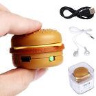 Hamburger USB Mini Music MP3 Lettore Supporto 32GB Micro SD TF Scheda Con