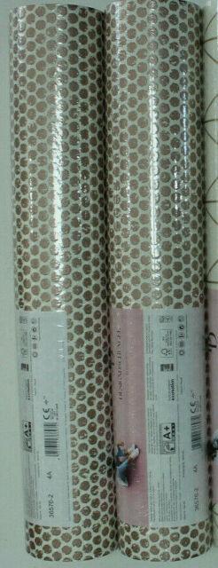 3 Rollen Vliestapete Designdschungel 36576-2 weiss-rosegold gemustert