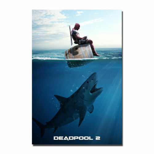 Art print F-63 Deadpool 2 Superhero Movie Film 2018 Marvel 12x18 24x36 Poster
