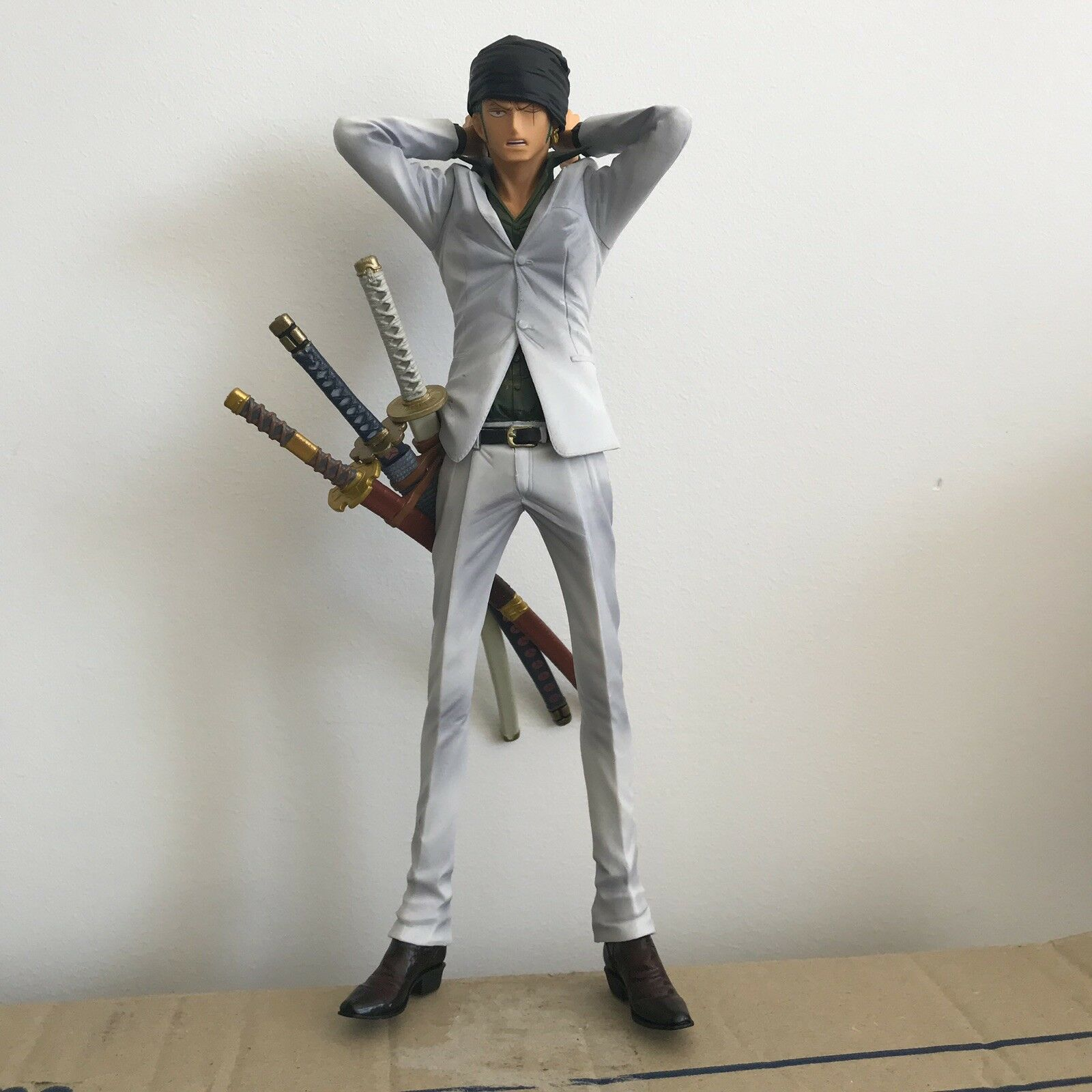 Banprestro One Piece King Of Artist Rgoldnoa Zgold Figurine