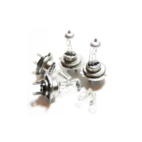 Skoda Fabia NJ3 100w Clear Xenon HID High//Low//Side Headlight Bulbs Set