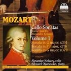 Mozart: Cello Sonatas (CD, Nov-2006, Toccata Classics)