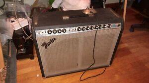 Vintage 1978 Fender Twin Reverb 2x12 amplifier. 135 Watts.