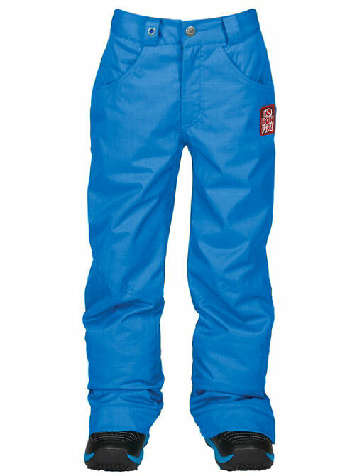 New 2014 Bonfire Derby Insulated Youth Snowboard Pants Medium Cobalt Kids