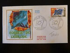 Bien éDuqué France Premier Jour Fdc Yvert S 49 Conseil De L Europe 1f Strasbourg 1976 Apparence EsthéTique