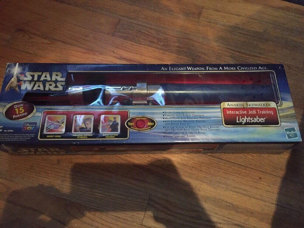 Skywalker sabre laser Interactive Bleu Sabre Laser Électronique  Lumières 2002 Hasbro  40% de réduction