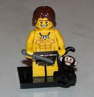 NEW Lego Collectible Minifig Series 7 Jungle Boy w/ Black Chimpanzee