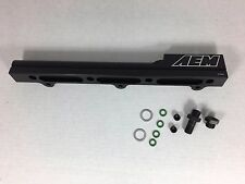 AEM 25-100BK Black High Volume Fuel Rail for Honda/Acura Integra B18B1 B18C1 B18