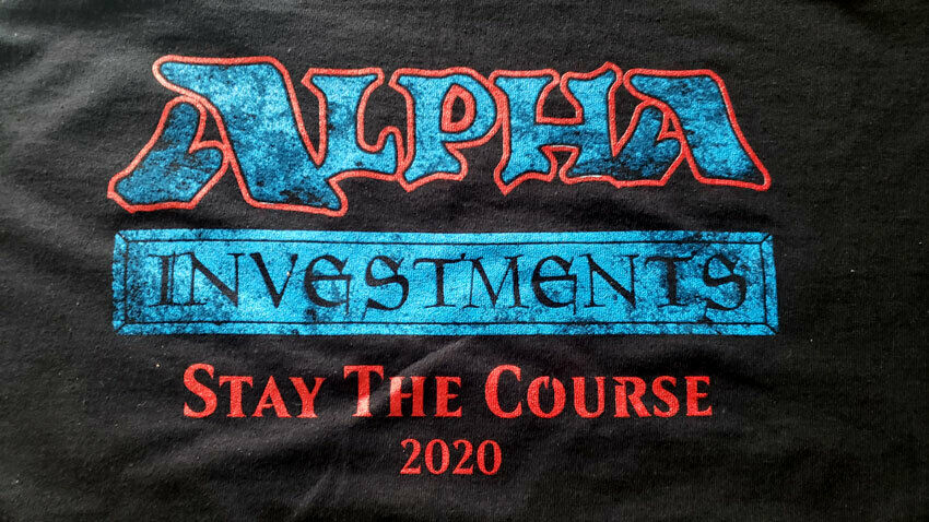 YouTube – Alpha Investments Branded T-Shirts Logo – Rudy The Magic Guy YouTube