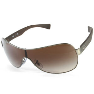 5f459c5ec7 Ray-Ban RB3471 029 13 Youngster Gunmetal Brown Gradient Unisex ...