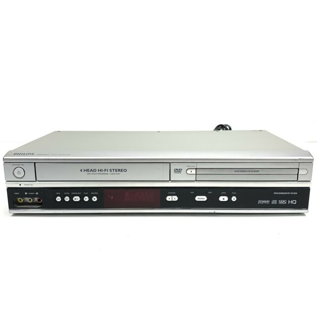 Philips DVP3340V DVD VCR VHS 4 Head Hi-Fi Combo Recorder Player FOR PARTS AS-IS