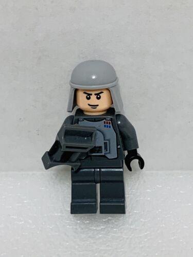 Lego Minifigure Star Wars Imperial Officer Battle Armor Captain Commander Sw0261