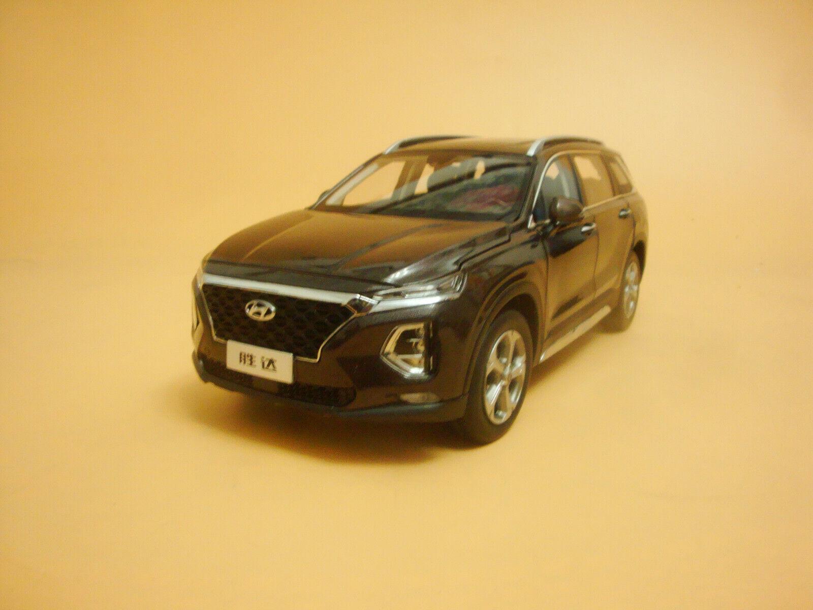 1 18 2019 All New Hyundai Santafe diecast Modelll