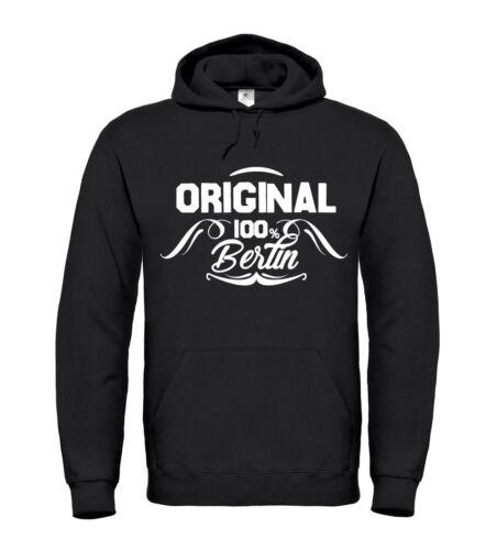 100/% Berlino ORIGINALE hoodie LAND Potsdam Croce montagna animale da giardino Alex