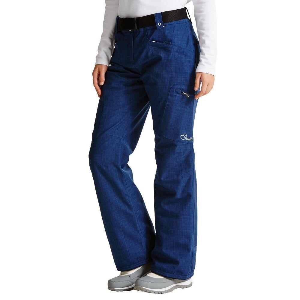 Dare 2b Ladies Free Scope Ski Pants Snowboarding Waterproof Admiral bluee Size 12