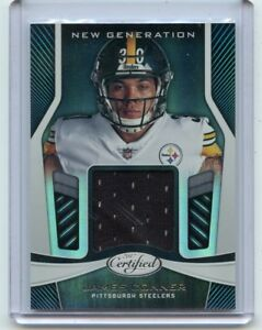 release date 08462 933db 2017 CERTIFIED #NG-JC JAMES CONNER JERSEY ROOKIE RC ...