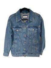 M/&S PER UNA Denim Kimono Jacket Size 14 Blue