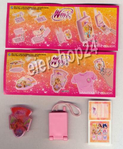 TESTWARE!!! alle 2 BPZ Alle 2 Spielzeuge WINX CLUB 2011