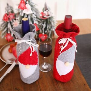 Christmas-Wine-Bottles-Covers-Champagne-Embroidery-Wraps-Set-Toys-Gift-Bags-H