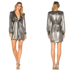 Astr Small Revolve Silver Long Sleeve Mini Dominique Gunmetal Party Dress B5 Revolve is the virtual home for an unrivaled collection of the world's most coveted brands of men's and women's designer apparel, shoes and accessories. ebay