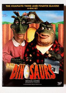 Sinclair-Family-Dinosaurs-TV-Show-Seasons-3-amp-4-on-DVD-Jim-Henson-Sitcom