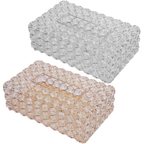 NEW  Tissue Box Cover Home Table Car Napkin Case Holder Storage Ornament