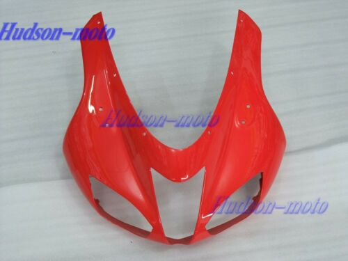 Front Nose Cowl Upper Fairing For Kawasaki Ninja ZX6R 2007-2008 ZX-6R 07-08 Red